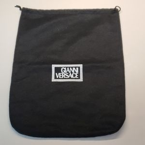 Gianni Versace black dust bag